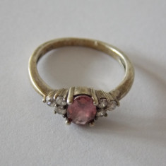 Inel argint cu zirconiu -1566
