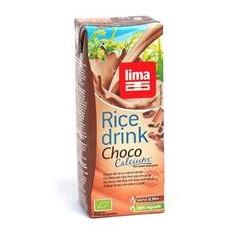 Lapte de Orez cu Ciocolata + Soia si Calciu Bio Lima 200ml Cod: 5411788043267