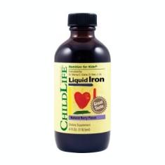 Liquid Iron 10mg Childelife Essentials Secom 118.50ml Cod: 24001 - Remediu din plante