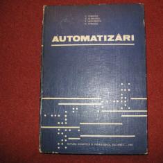 Automatizari - C.Ionescu, V.Vladeanu, S.Larionescu, D.Ionescu - Carti Electrotehnica