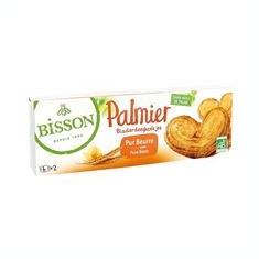 Biscuiti Bio Palmier cu Unt Bisson 2x50gr Cod: 7738 - Dulciuri
