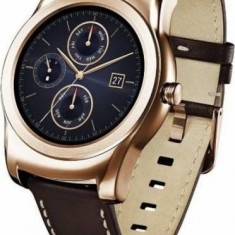 RESIGILAT: Ceas SmartWatch LG Watch Urbane, Aluminiu, 42mm, Auriu, Android Wear, 4 GB