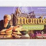 Extract Purificat de Rasina Mumie cu Propolis Damar 30tb Cod: 12854
