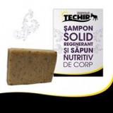 Sampon Solid Regenerant si Sapun Nutritiv de Corp Techir 100gr Cod: tec11