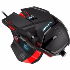 Mouse Gaming MAD CATZ R.A.T. 6 Black, USB, Laser, Peste 2000