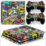 Skin / Sticker BOMB Playstation 4 PS4 SLIM + 2 Skin controller