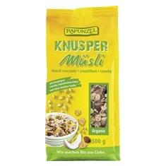 Musli Bio Crocant Extra Rapunzel 500gr Cod: 800470 - Snack