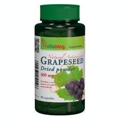 Extract din Samburi de Struguri (Resveratrol) 400mg Vitaking 90cps Cod: vk1207