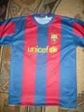 Tricou al Echipei Fotbal FC Barcelona - Jucator Messi cu ocazia Galei UNICEF, S, Albastru
