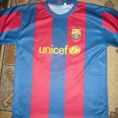 Tricou al Echipei Fotbal FC Barcelona - Jucator Messi cu ocazia Galei UNICEF