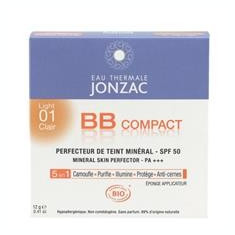 Fond de Ten Bio Compact SPF 50 Ten Deschis Jonzac VN 12gr Cod: 3517360011609