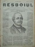 Ziarul Resboiul , nr. 5 , 1877 , gravura