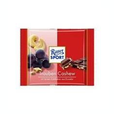 Ciocolata cu Lapte Alune Caju 12% si Stafide 8% Bio Pronat 65gr Cod: bg185331 - Dulciuri