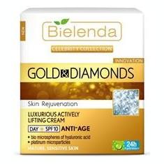 Crema Antirid de Zi cu Aur si Pudra de Diamant SPF 10 Bielenda Niavis 50ml Cod: 2153bie