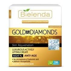 Crema Antirid de Noapte cu Aur si Pudra de Diamant Bielenda Niavis 50ml Cod: 2217bie
