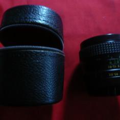 Obiectiv Haminex Automatic MC Minolta, etui original piele