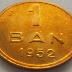 Moneda 1 Ban - ROMANIA, anul 1952 *cod 281 a.UNC+ - Moneda Romania