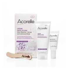 Crema Depilatoare Naturala pentru Fata si Zone Sensibile Acorelle 75ml Cod: 3700343030166 - Crema antirid