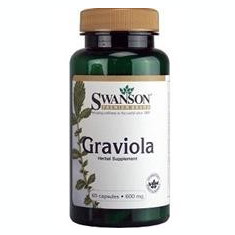 Graviola 600mg Swanson 60cps Cod: medical 10 - Vitamine/Minerale
