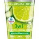 3 in 1 Gel de Curatat Scrub si Ser cu Lime si Castravete Bielenda Niavis 150ml Cod: 2165bie
