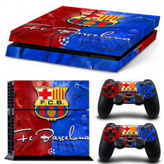 Skin / Sticker FCB Barcelona Playstation 4 PS4 + 2 Skin controller PS4