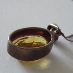 Lantisor de argint cu pandant zirconiu -1577 - Lantisor argint