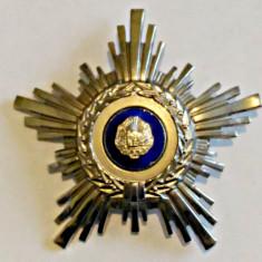ORDINUL STEAUA ROMANIEI RSR CL A IV A MODEL 1966 P