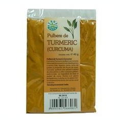 Turmeric Pulbere Herbavit 40gr Cod: 25172 - Condiment
