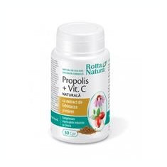 Propolis + Vitamina C Rotta Natura 30cps Cod: 27867 - Vitamine/Minerale
