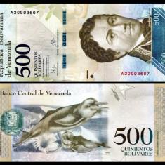 Venezuela 2016 - 500 bolivares UNC - Cartela telefonica straina