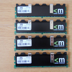 Kit Memorie Ram Mushkin 8 GB (4X2) 1066 Mhz DDR2 Desktop., Dual channel