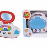 + Simba jucarie Bebe - Primul laptop (rosu si albastru) +