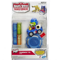 Angry Birds Transformers Jenga – Soundwave Pig - Figurina Desene animate