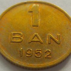 Moneda 1 Ban - ROMANIA, anul 1952 *cod 1124 a.UNC+ - Moneda Romania