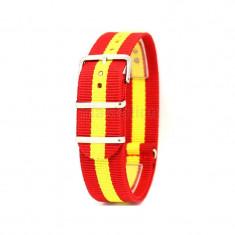 Curea ceas NATO Spania Curea ceas textila 18mm 20mm 22mm - Curea ceas material textil