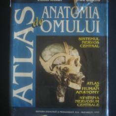 VIOREL RANGA, RADU DIMITRIU - ATLAS DE ANATOMIA OMULUI * SISTEMUL NERVOS CENTRAL