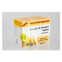 Omega 3 si Omega 6 vegetal Hofigal 40cps Cod: 17515 - Vitamine/Minerale
