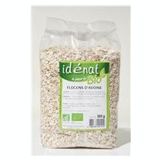 Fulgi de Ovaz Baby Bio Idenat 500gr Cod: 1577 - Cereala