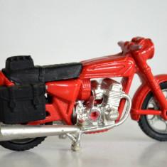 Macheta metalica motocicleta Majorette - rosie
