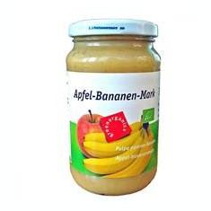 Piure Bio din Pulpa de Mere si Banane Pronat 360gr Cod: bg260333 - Piure copii