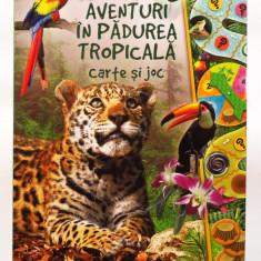 AVENTURI IN PADUREA TROPICALA - carte si JOC (Reader's Digest) - Carte personalizata