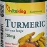 Curcuma (Turmeric) 720mg Vitaking 60cps Cod: vk1305