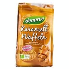 Mini Vafe Bio cu Caramel Dennree 150gr Cod: 637863