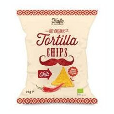 Tortilla Bio cu Chilli Pronat 75gr Cod: bg208594 - Panificatie