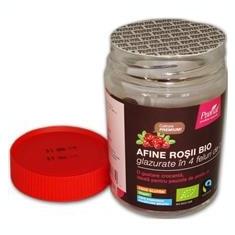 Afine Rosii Bio Glazurate Pronat 130gr Cod: lg55254 - Fructe