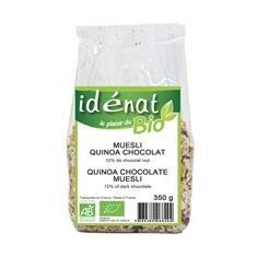 Muesli Quinoa cu Ciocolata Bio Idenat 350gr Cod: 6829 - Snack