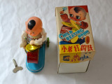 Tobosar jucarie China anii 1980
