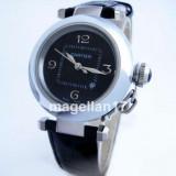 Pasha de Cartier ! ! ! Calitate Premium ! - Ceas dama Cartier, Lux - elegant, Quartz, Inox, Piele, Data