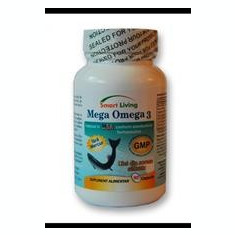 Mega Omega 3 Smart Living 90cps Cod: 6smart - Vitamine/Minerale