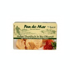 Conserva cu Ton Alb in Ulei de Masline Bio Pronat 120g/90g Cod: bg204930 - Peste si fructe de mare